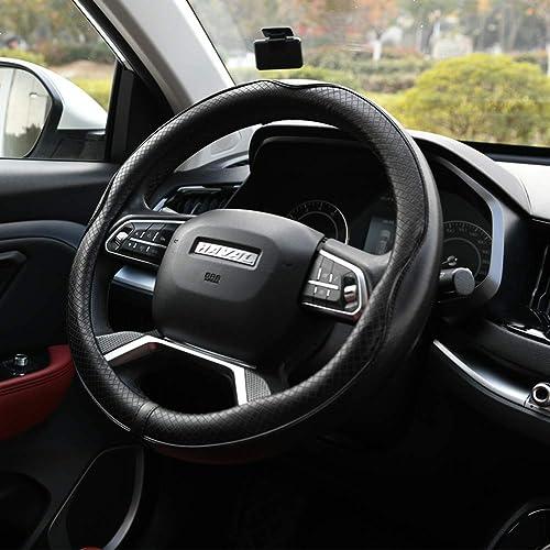 Rueesh Microfiber Leather Steering Wheel Cover