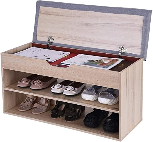Amazon Com Entryway Shoe Storage Bench Beyonds White Shoes Shelf Rack With Innovative Flip Cover Drawers Two Tier Padded Seat Cushion Hallway Bathroom Wooden Cabinet Kitchen Dining,Bright Orange Kitchen Accessories