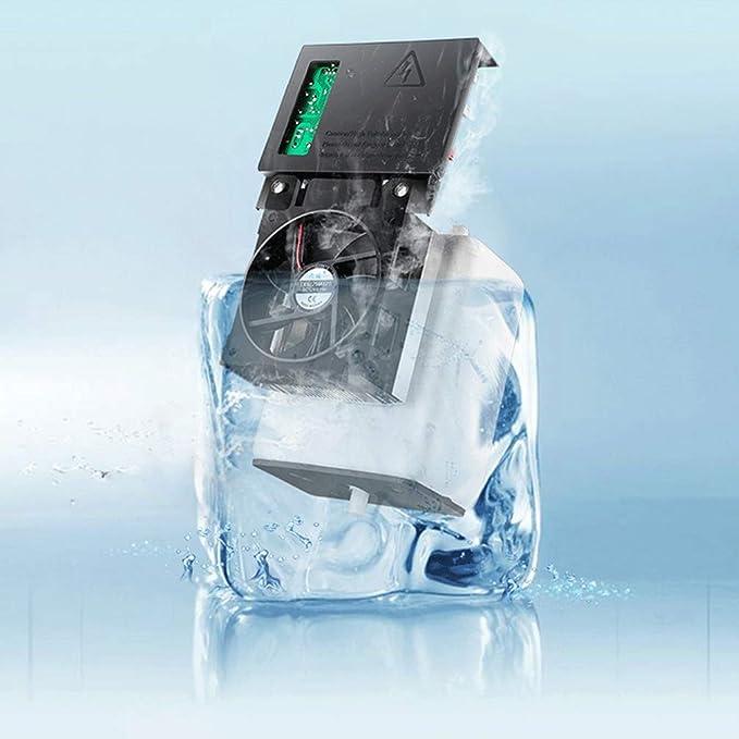 Dispensador de Agua de Escritorio Refrigeración pequeña Hielo Hogar Dormitorio Caliente Vertical Frío y Calor: Amazon.es: Hogar
