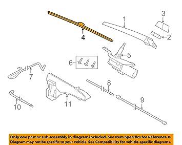 Original BMW Limpiaparabrisas Traseros Luna trasera (para BMW X5 F15, X5 M F85: Amazon.es: Coche y moto