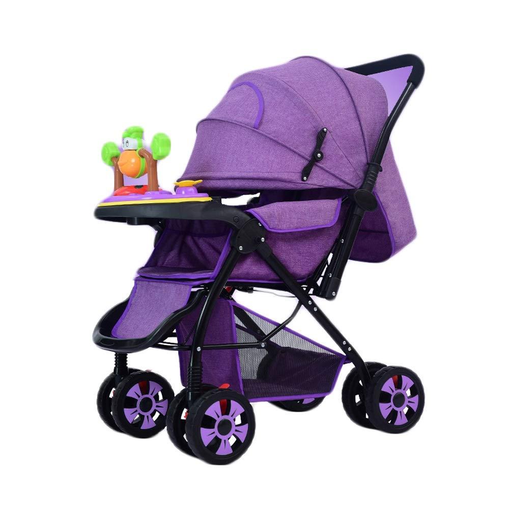 Cochecitos Bebé Trolley Bebé Bebé Puede Sentarse Plano Y ...