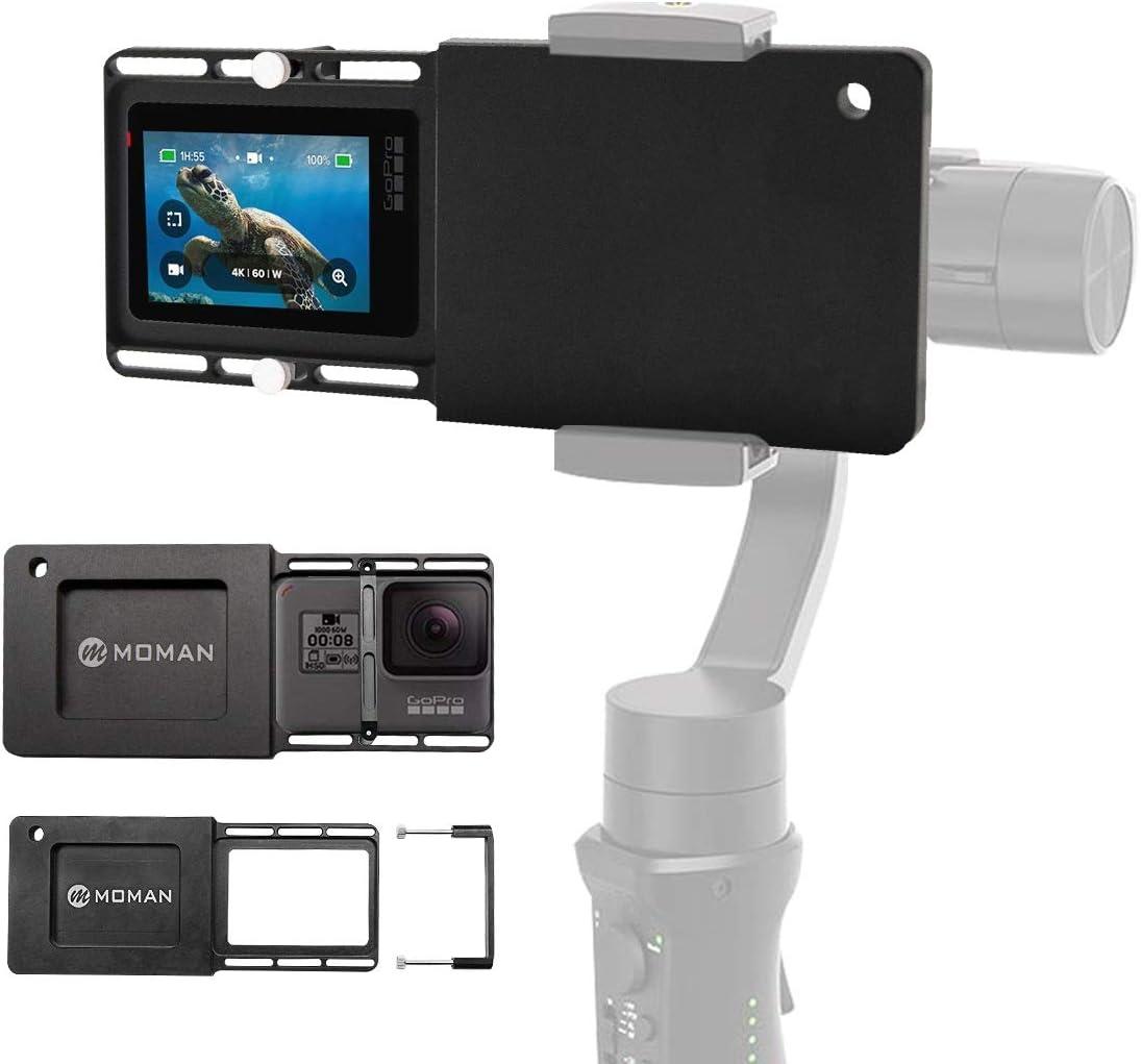 Osmo Action OSMO Mobile 3 Honbobo f/ür PGYTECH Aktionskamera Adapter montieren f/ür DJI OM4 Kompatibel mit Gopro Hero 5//6//7 Zhiyun//Feiyu