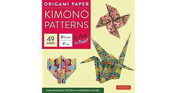 Amazon.com: Tuttle de papel para Origami – Patrones de ...
