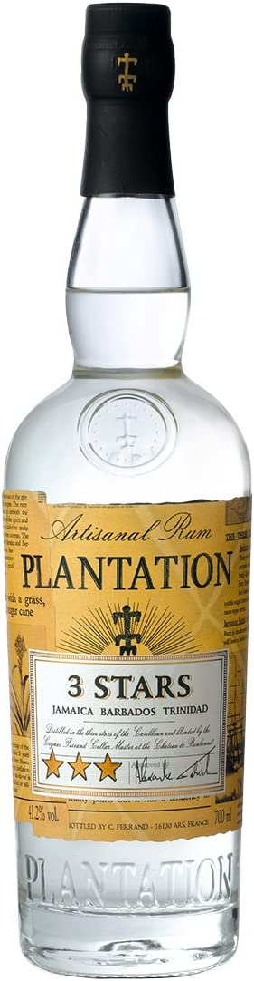 PLANTATION - Plantation 3 Stars White Rum 41,2º