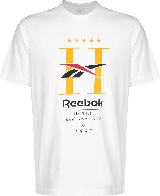 Reebok Cl GP Hotel T-Shirt Unisex-Adulto