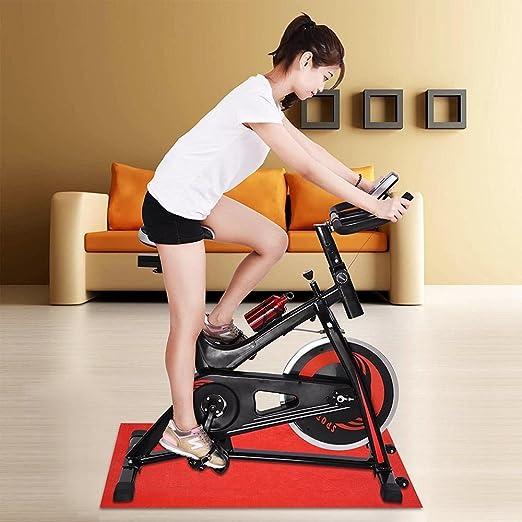 Ampersand tiendas Centrifugar clase bicicleta cardio Fitness ejercicio entrenamiento en interior Spinning ciclismo equipo, Rojo: Amazon.es: Deportes y aire libre