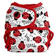 Best Bottom Cloth Diaper Shell-Snap, Little Love Bug