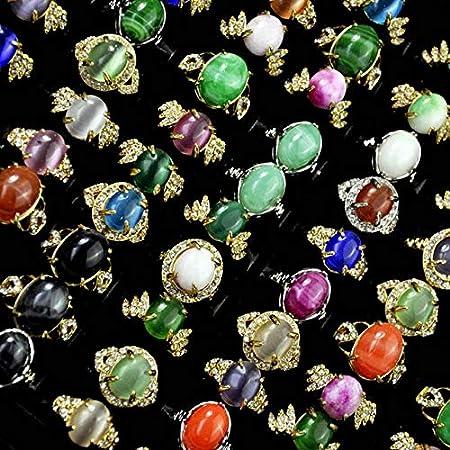 ISMILE Joyería 50 Unids/Lote Anillos De Mujer Lotes De Accesorios De Joyería Femenina De Moda Tienda Paquetes A Granel Varios Estilos