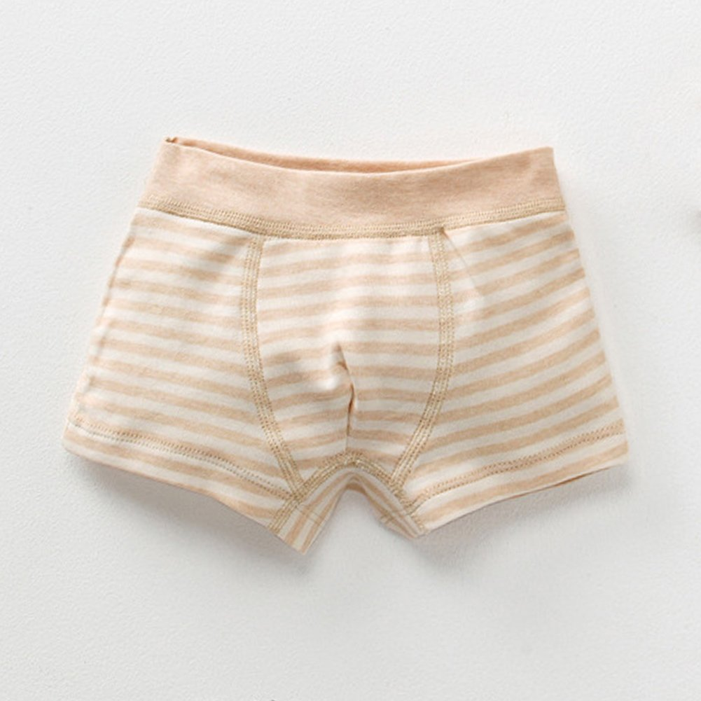 Poliking Childrens 100/% Nature Organic Cotton Pants Underwear for Baby Girls and Boys,Pack of 3