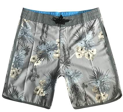 8022aaed99 Men Swim Trunk Printed Quick Dry Waterproof Bathing Beach Board Shorts |  Amazon.com