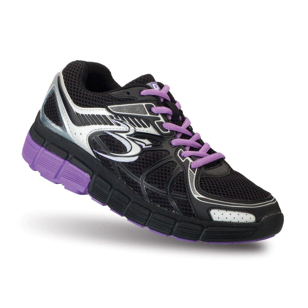 Gravity Defyer Women's G-Defy Super Walk Athletic Shoes B00CMHA3AQ 6.5 C/D US|Black, Purple