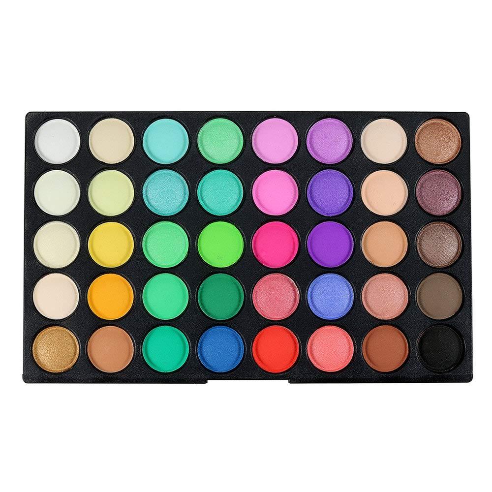 BFHCVDF Profesional 120 Color Super Light Paleta de Sombras de Ojos Herramienta de Maquillaje cosm/ético Cantidad de 120 Colores