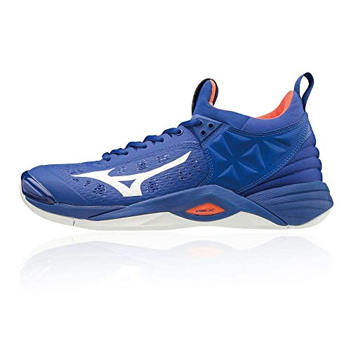 28da3721a42 Mizuno Wave Momentum Indoor Court Shoes - SS19 Blue: Amazon.co.uk ...