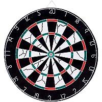 TechSmile Dartboard 46 cm Durchmesser mit 12 Dartpfeile