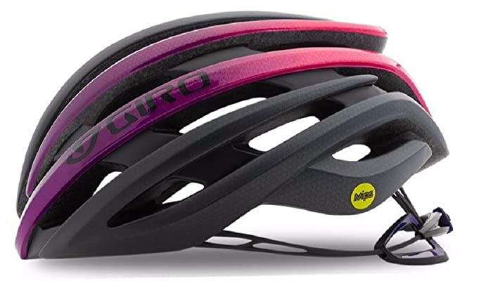 Giro Ember MIPS Matte Bright Pink Black Ladies Bike Helmet Size Small