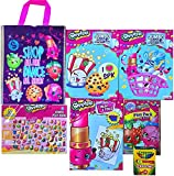 Shopkins Birthday Gift Set Coloring Books,Stickers,Play Pack,Crayons & Shopkins Gift Bag