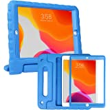 HDE iPad 8th Generation Case for Kids with Built-in Screen Protector – Shock Proof iPad Cover 7th Generation 10.2 - iPad 10.2
