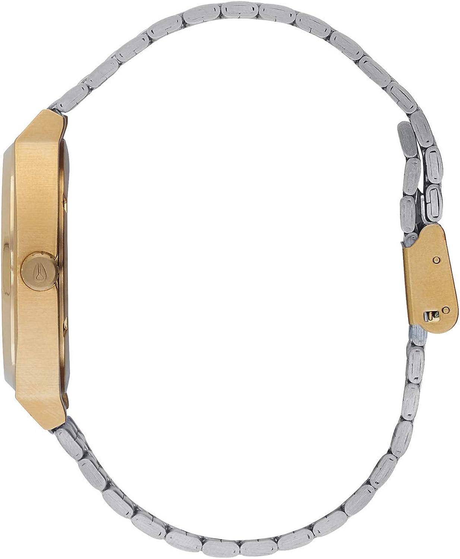 NIXON Time Teller A045 Gold / Silver / Silver