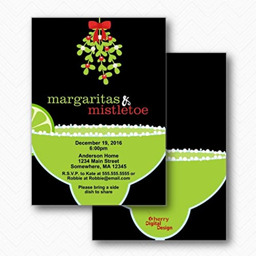 amazon com margaritas mistletoe holiday christmas party