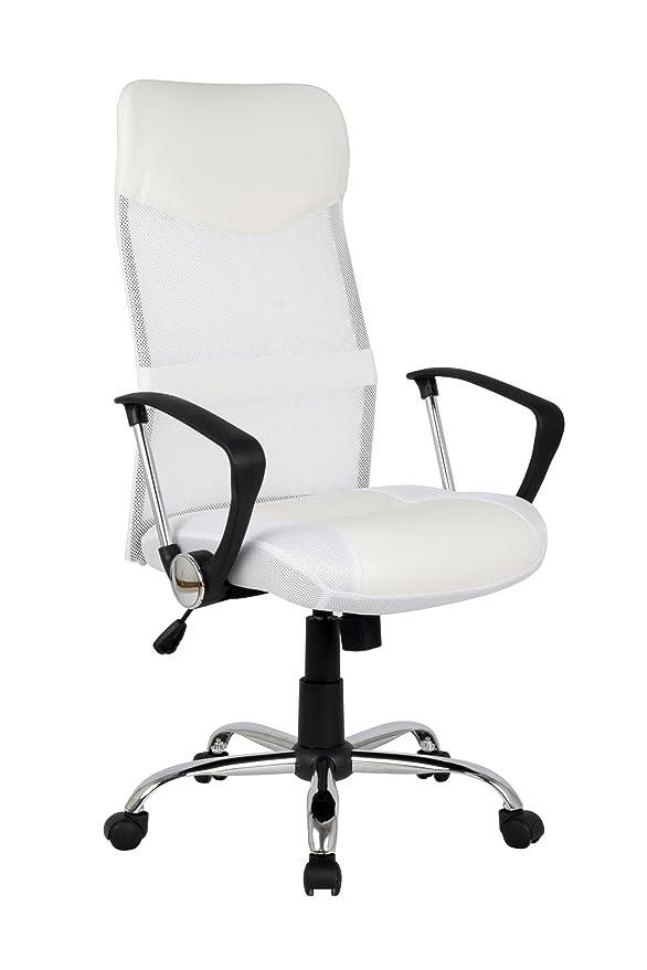 150 opinioni per SixBros. Design- Poltrona sedia ufficio sedia girevole bianca- H-935-6/1320
