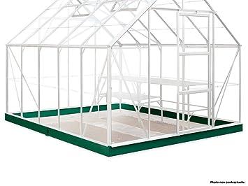 HALLS - Embase pour Serre Supreme 108-8.2 m²: Amazon.fr: Jardin