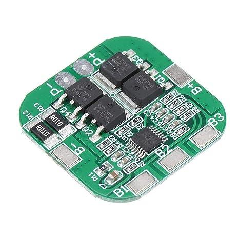Hjhjghj 4S 14.8V 16.8V 20A Pico de Iones de Litio BMS PCM Placa de ...