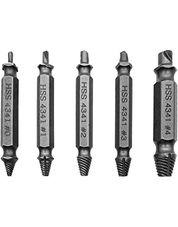 5pcs Single Sides Damaged Screw Extractor Alloy Steel Out Remover Bolt Stud 2018 New Arrival Hot Sale Goods Of Every Description Are Available Hand & Power Tool Accessories Drill Bits