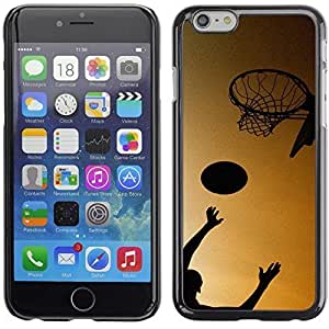 Basketball Game Sports Theme Design Hard Case Cover for iPhone 6 Plus / 6S Plus Customized LO.O Case