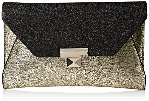 Guess Women's Haute Romance Large Clutch Portable Handbag Hangers and Hooks, One Size Fits All