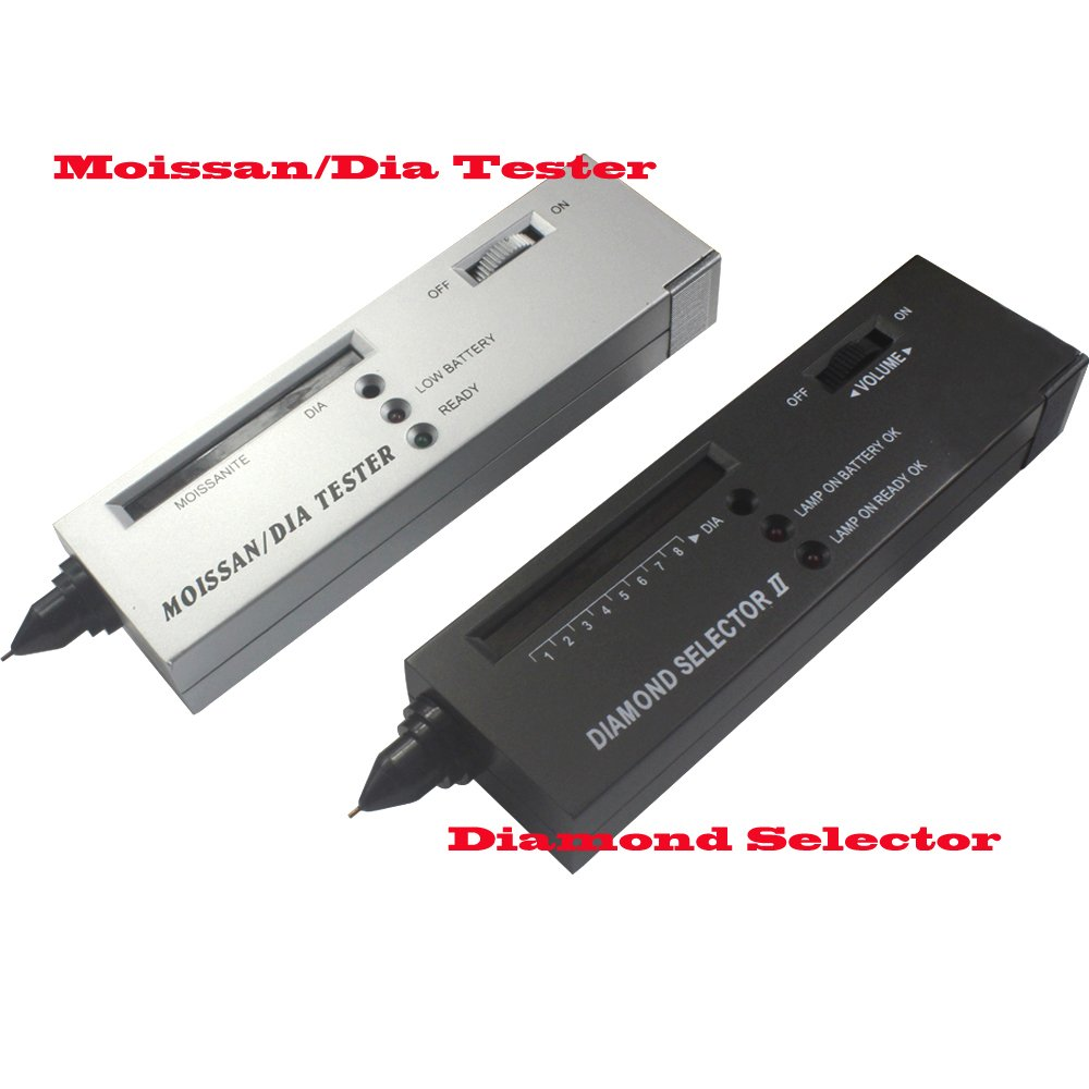 New Professional Dual Diamond Moissanite Tester Kit by Acifica