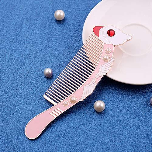GYYlucky Retro Comb Girl Heart Portable Comb Event Gift
