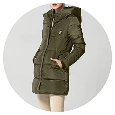 Amazon.com: Summer-lavender Long Down Parkas Winter Coat ...