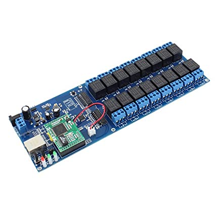 Amazon com: Relay Board 16 Channels Relays Remote Control