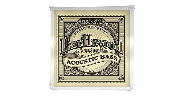 Amazon.com: Earthwood Phosphor Bronze Acoustic Bass Set .045 - .095: Beauty