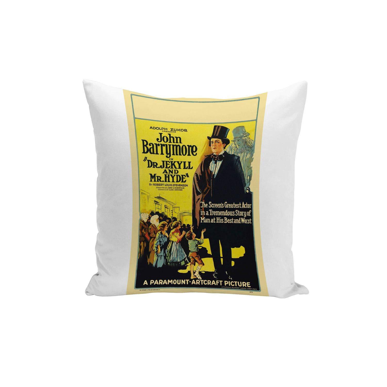 Fabulous Funda de Cojín Inglés Antiguo Cartel de Película ...