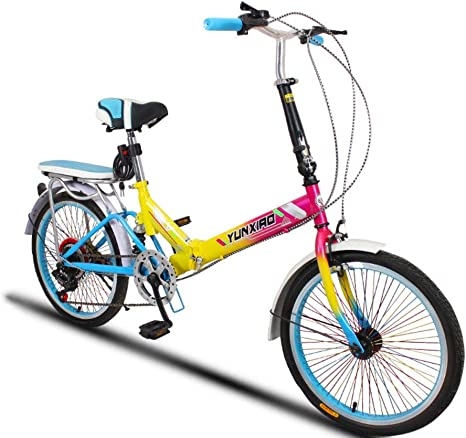 SDZXC Bicicletas Plegables para Estudiantes, Bicicletas Plegables ...