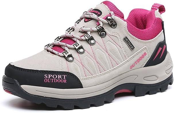 MUOU Chaussures de Marche Femme Hommes,Sneakers Chaussures de Sports Baskets Mode pour Outdoor Trekking Randonnée Running Ville Training Gym Basses
