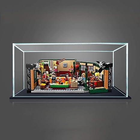 12che Acrílico Vitrina a Prueba de Polvo Caja de presentación Mostrar Cuadro para Lego Friends Cafe 21319: Amazon.es: Deportes y aire libre