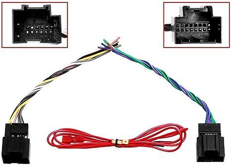 car stereo radio wiring harness for 2006-2007 saturn ion vue: car  electronics - amazon.com  amazon.com