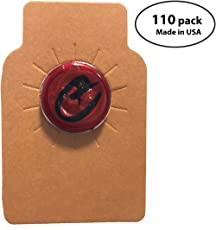 Wine Bottle Tags Kraft Leather Paper Made in USA Premium Wine Cellar Labels - 110  sc 1 st  Amazon.com & Wine Cellar Parts u0026 Accessories | Amazon.com