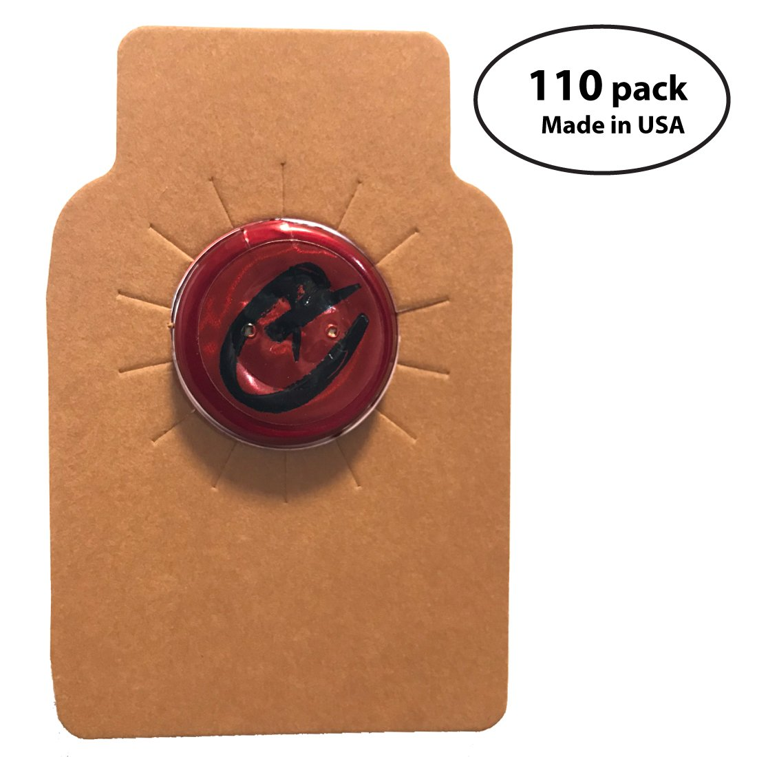 Wine Bottle Tags Kraft Leather Paper Made in USA, Premium Wine Cellar Labels - 110 Count Memory Cross Inc.