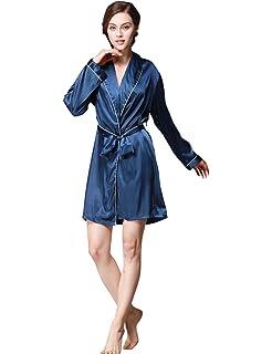 38c95b41bf831 Menschwear Damen Wunderschöne Nachtwäsche Set Kimono Robe mit ...