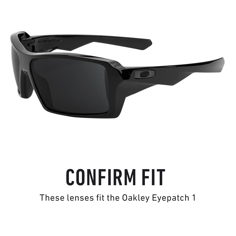 541fad564e9 Amazon.com  Revant Polarized Replacement Lenses for Oakley Eyepatch 1 Elite  Black Chrome MirrorShield  Sports   Outdoors