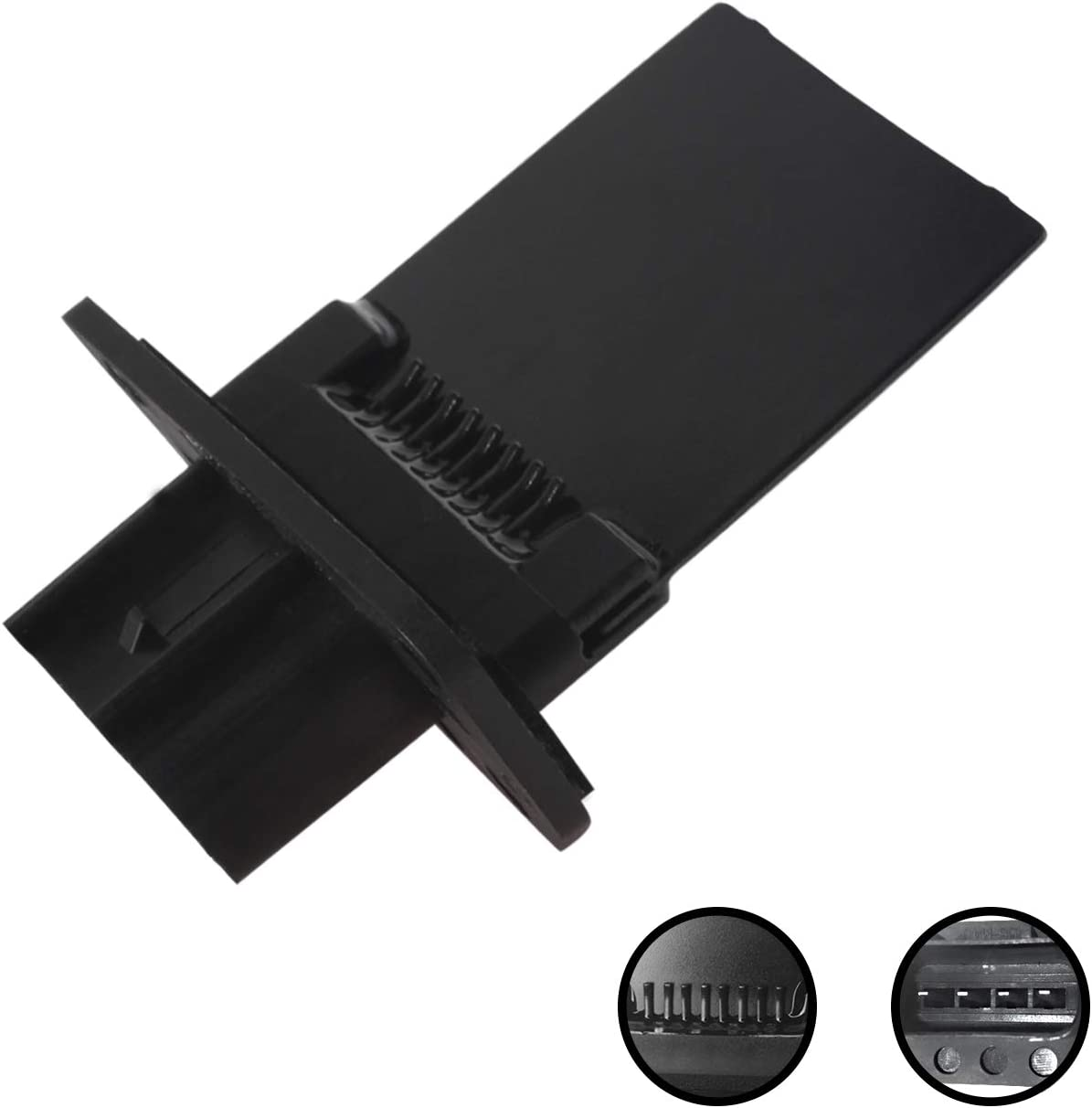 HVAC Fan Resistor Module Monrand YH-1715 3F2Z18591AA Blower Motor Resistor Kit with Harness Fits for Ford Escape Expedition F150 250 350 450 550 Lincoln Mark LT Mercury Mariner