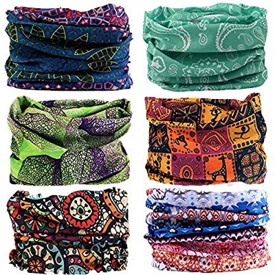 NEXTOUR Neck Gaiter Headwear Headband Magic Scarf Seamless Bandana Runing, Fishing, Hiking, Motorcycle 12 in 1 Multi Function Women Men