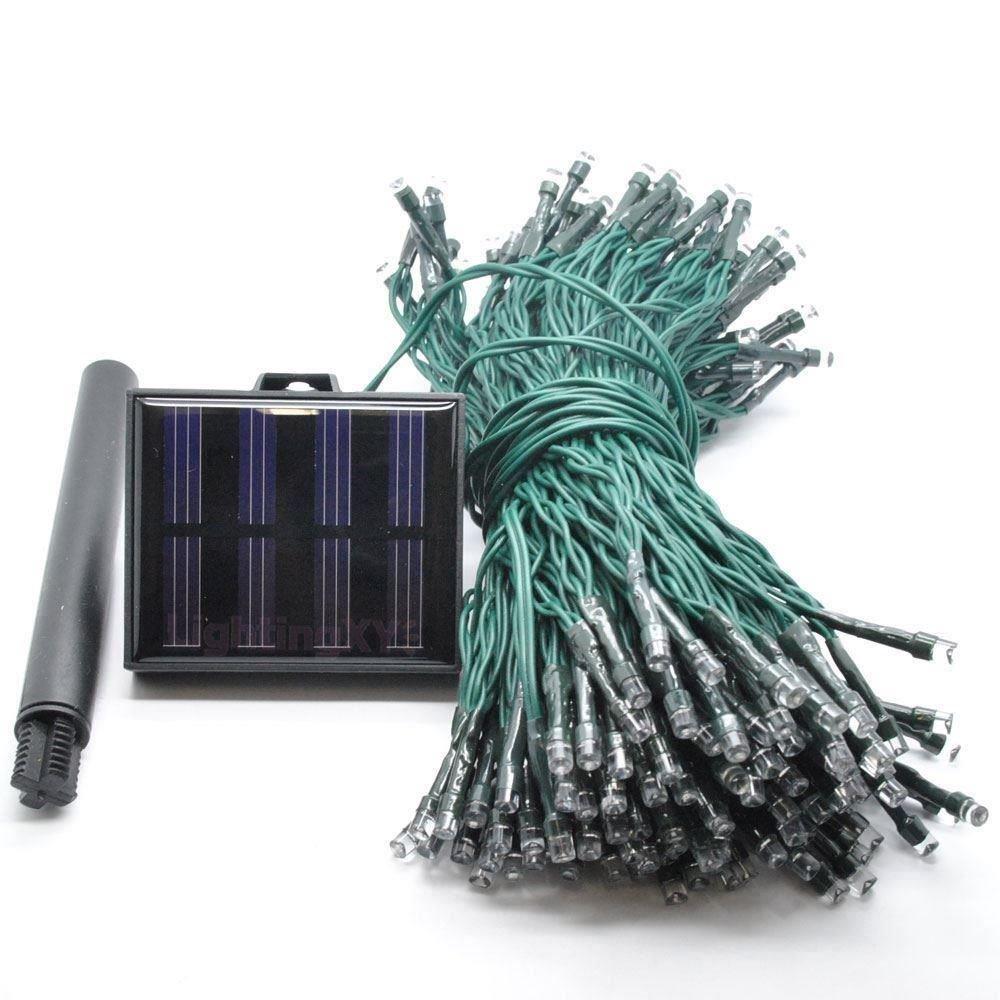 JnDee Multi Couleurs guirlande Guirlande lumineuse solaire 22/m 200/LED LED de qualit/é multi fonction int/érieur//jardin ext/érieur RGBY f/ête