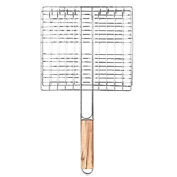 Amazon.com: Ownsig - Cesta de barbacoa de alambre portátil ...