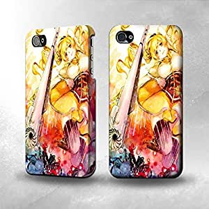 Apple iPhone 4 / 4S Case - The Best 3D Full Wrap iPhone Case - Puella Magi Madoka Magica Tomoe Mami 1