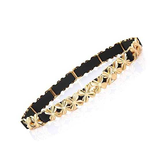 vendita outlet sito ufficiale davvero comodo Ya Jin Cintura da donna Cintura elegante in metallolo dorato con ...