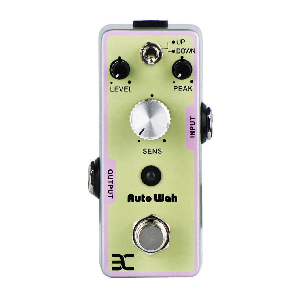 EX Guitar Bass Effect Pedal Digital Auto Wah Filter True Bypass by EX
